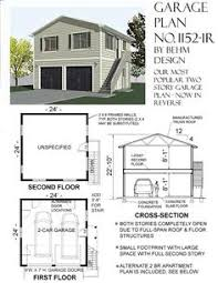 two story garage apartment plans 2 story garage with second story apartment or space under 20 ft