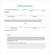 land lease agreement template free land lease agreement