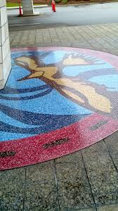 Spider Floor L Hospital Spider Epoxy Terrazzo Custom Floor Designs