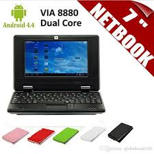 android laptop cheap new 7 inch netbook mini pc laptop via8880 dual android