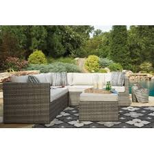 outdoor patio sectional sofas u0026 loveseats wayfair