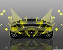 Lamborghini Huracan Design - lamborghini huracan back abstract aerography car design by tony