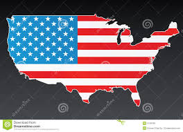 Us Flags Com Usa Map With Us Flag Stock Vector Illustration Of Patriotism