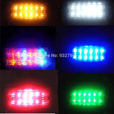 2pcs led trailer truck clearance side marker submersible light