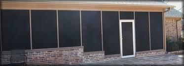 Solar Shades For Patio Doors by Louisville Kentucky Retractable U0026 Motorized Patio Screens