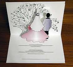pop up wedding invitations perceptions marketing pop up cards