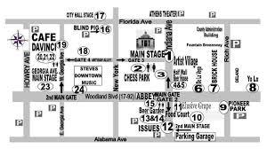 Map Of Deland Florida by 17th Annual Deland Original Music Festival Sat Nov 4th 2017