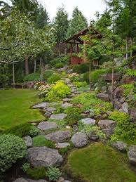 Fake Rocks For Landscaping by Best 25 Landscaping With Rocks Ideas On Pinterest Easy