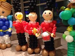 balloons decoration 60 budget friendly outdoor indoor christmas decorations with