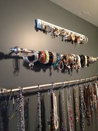 bracelet necklace organizer images 25 clever diy ways to keep your jewelry organized apartments jpg