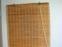 Outdoor Roll Up Shades Lowes by Bedroom Minimalist Bamboo For Window Blinds Lowes Popular Home