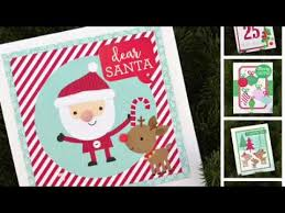 process video 16 10 quick christmas cards with here comes santa