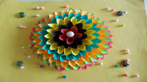 Home Decoration Ideas For Diwali Easy Diy Home Decor Ideas How To Make Wall Decoration With Paper
