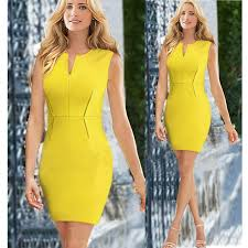 ladies u0027 v neck sheath party dinner dress celebrity pencil dress