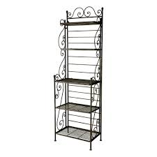 Wrought Iron Bathroom Accessories by Wrought Iron Shelf Unit In Brown W 58cm Manon Maisons Du Monde