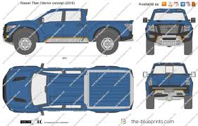 Nissan Titan Concept The Blueprints Com Vector Drawing Nissan Titan Warrior Concept