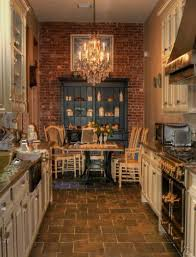 Kitchen And Kitchener Furniture Rustic Kitchen Ideas Kitchen The Rustic Appeal Of Brick Wall Interiors Home Dreams