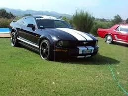 Black Mustang With Black Rims Dscn6903 Ford Mustang 4 0 V6 Black Rims 20 Strip White Youtube