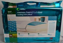 memory foam bed pillows comfort revolution cooling bed pillow famchristmas it s free at