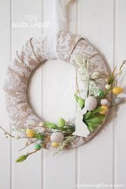 easter wreath mini easter wreath