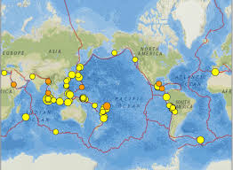 Map Of Cayman Islands Sumatra The Red Sea And The Us Virgin Islands Earthquakes 2 8