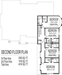 bedroom bungalow house plans drawings 2 story home designs 5