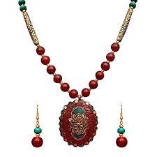 fashion jewelry necklace set images Buy sitashi fashion jewellery rajasthani design necklace set jpg