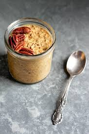 pumpkin overnight oats with chia ambitious kitchen