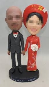 cake toppers bobblehead custom cake toppers wedding 20160914