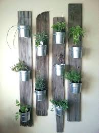 planters that hang on the wall indoor herb wall indoor garden ideas hang your plants from the