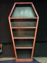 coffin bookshelf coffin bookshelf stuff junk bed room master