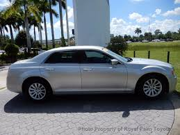 2012 used chrysler 300 4dr sedan v6 rwd at royal palm toyota