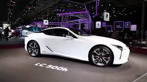 lexus convertible models 2018 2018 lexus lc 500h indepth interior exterior youtube