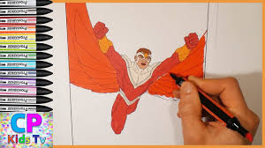 avengers coloring pages for kids part 1 avengers falcon coloring