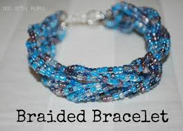 braided bead bracelet images Braided bead bracelet one artsy mama jpg