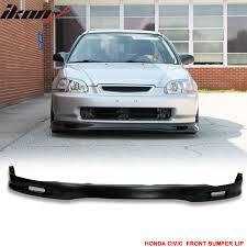 97 honda civic urethane spoon front bumper lip spoiler 96 98 honda civic ek car