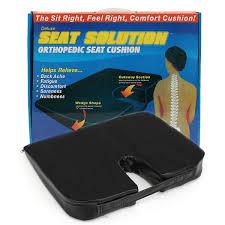 Seat Cushion For Desk Chair Orthopaedic Memory Foam Seat Cushion Lumbar Support Car Office