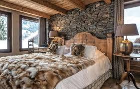 canapé style chalet chambre style chalet de montagne deco moderne free design maison dco