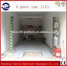 4 pillar auto lift 4 pillar auto lift suppliers and manufacturers