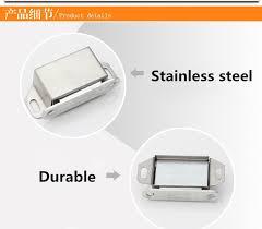 stainless steel cabinet door latches aliexpress com buy 10pcs cabinet cupboard door latch magnetic door