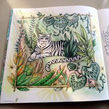 white tiger magical jungle johanna basford tips u0026 tutorials