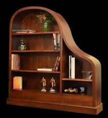 Mahogany Effect Bookcase Cherry Bookcases Foter