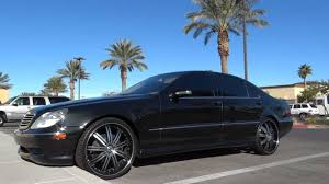 mercedes s500 amg for sale 2005 mercedes s500 w 22 inch 3 rims