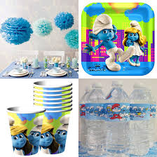 smurfs baby shower invitations 148 best mateo smurfs party images on pinterest birthday party