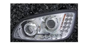 kenworth parts and accessories kenworth t660 aftermarket redesigned headlight assembly w 18 led u0027s