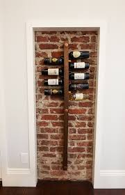 unique wine racks with dark wood wall wine cellar contemporary and