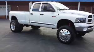 cummins truck lifted 2003 dodge ram 3500 cummins lifted dually youtube