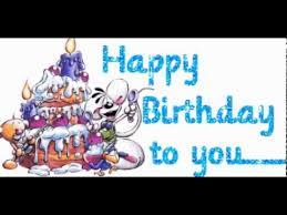 happy birthday to you happy birthday greeting card youtube