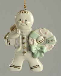 lenox annual gingerbread ornament at replacements ltd