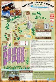 Tanger Outlet Map Antler Oaks Lodge Park Map Cabins And Rv Park On The Medina River
